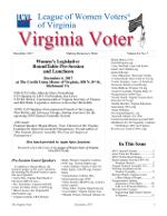 The Virginia Voter, Dec. 2017