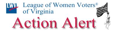 LWV-VA Action Alert
