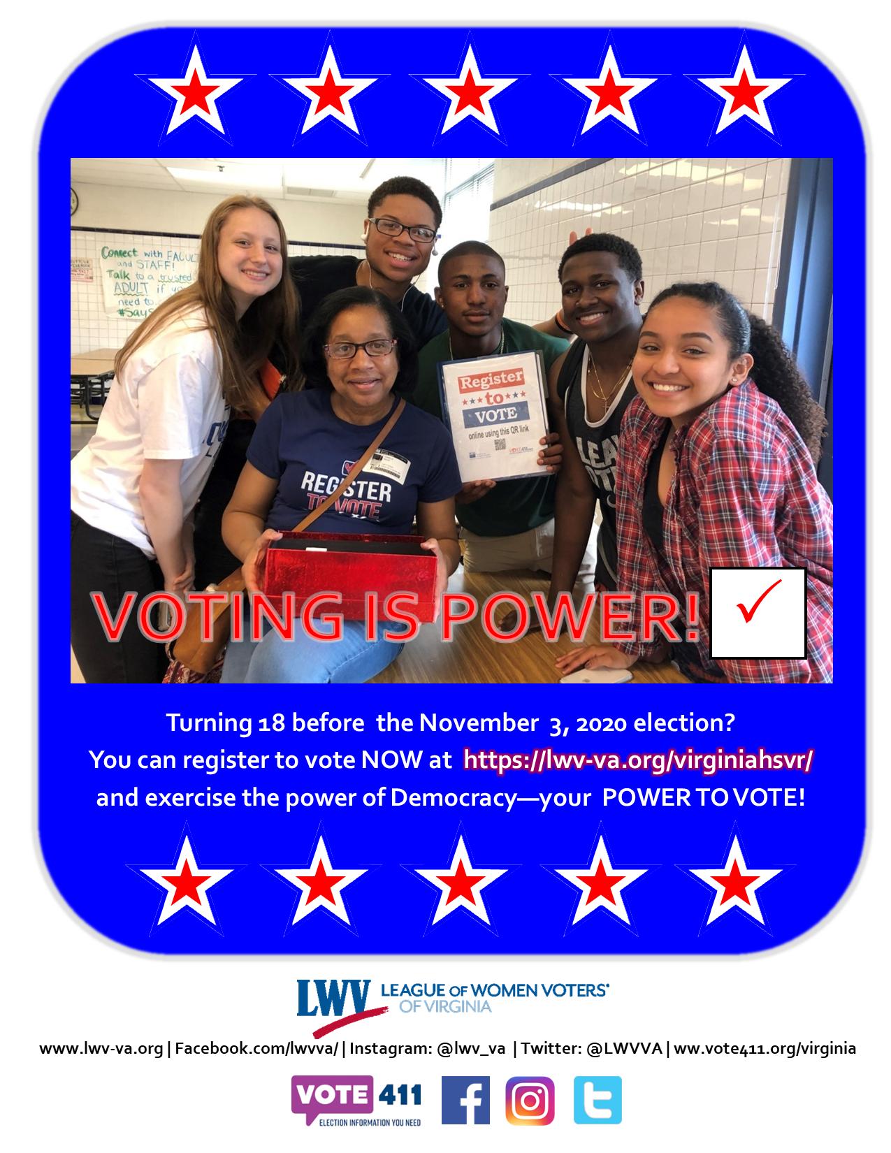 HS Voter Registration