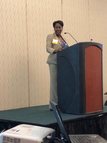 LWV-VA 2019 Convention, Luncheon Speaker, Christy Coleman